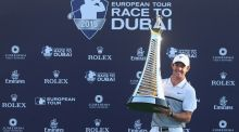 Rory McIlroy ended a disrupted season with victory in the Race to Dubai. Photograph: Getty