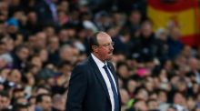 "Perez on Benitez: ""We are convinced that we have a great squad that will give much happiness to a fanbase that deserves everything. Rafael Benitez is the chosen one to bring success to this squad."""