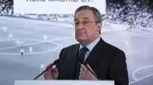 "Real Madrid  president Florentino Perez:  ""All this stuff people say in the media is just to destabilise us. And it's every day."" Photograph: Gonzalo Arroyo Moreno/Getty Images"