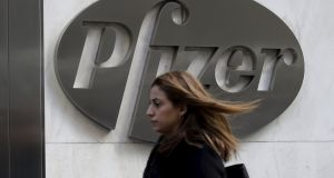 In Ireland, Pfizer will post-merger pay a  12.5 per cent tax rate on any international income routed through the new Dublin operation. Photograph: Brendan McDermid/Reuters