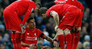 Phillipe Coutinho could return to action against Swansea after his hamstring injury has proven to be not as serious as first feared. Photograph: Reuters