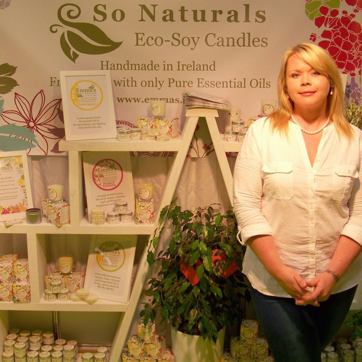 Chemical-free candles light up Irish and European markets