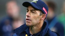 Australia coach Alastair Clarkson is  keen on playing in US. Photograph: Ian Walton/Getty Images