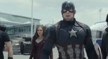 Captain America and Iron Man face off in 'Captain America: Civil War'