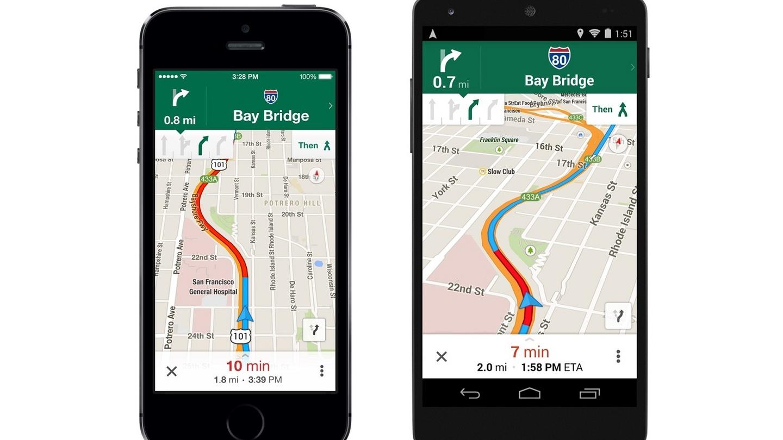 Web Log: Google Maps goes offline