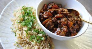 Domini Kemp: A warming stew with celariac rice