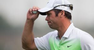 Paul Casey has precluded himself form selection for Europe's 2016 Ryder cup side. Photograph: Afp
