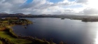 4K drone footage captures the beauty of Lough Eske