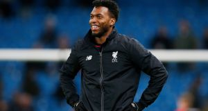 "Liverpool manager Jürgen Klopp  insists Daniel Sturridge   must prove he is more ""robust"" before he is fully thrown back into first-team action. Photograph: Phil NobleReuters/Livepic"