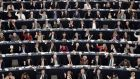 Members of the European Parliament take part in a voting session  in Strasbourg, eastern France, on November 25, 2015.  Photograph/Frederick Florin/Getty Images