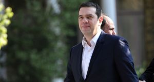 Alexis Tsipras: The Greek prime minister  has pledged to tackle tax dodging to pull country out of economic meltdown. Photograph: Louisa Gouliamaki/AFP/Getty Images