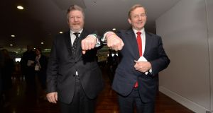 Fine Gael deputy leader and Minister for Children James Reilly received a dressing down from Taoiseach Enda Kenny in front of his party's ministerial team over comments Dr Reilly made on abortion. Photograph: Alan Betson