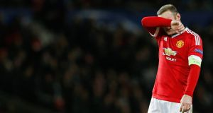 Wayne Rooney has urged Manchester United to be more ruthless in front of goal after his side's 0-0 draw with PSV at Old Trafford. Photograph: Reuters