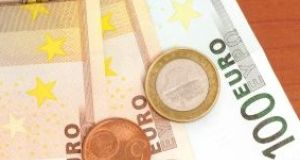 Weekly earnings in the private sector rose 3.6 per cent from €604.50 to €626.07 in the year to the end of September