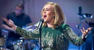 Tickets for the Adele tour go on sale on Friday December 4th at 9am. Photograph: PA Wire