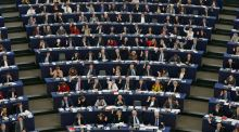All four Fine Gael MEPs voted against the committee proposal. Photograph: Reuters