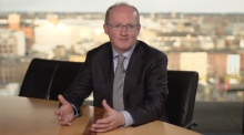Philip Lane addresses the Central Bank of Ireland
