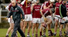Anthony Cunningham resigned from his role as Galway hurling manager after players put forward a vote of no confidence in him. Photograph: James Crombie/Inpho.