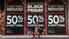 Black Friday is on its way to becoming the biggest online shopping day in UK history as consumers shun the high street in search of bargains on the web.  Photo: Bloomberg