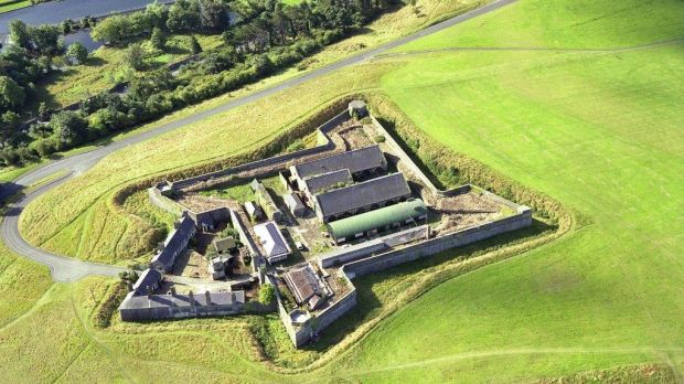 An aerial shot of the historic munitions depot at Phoenix Park