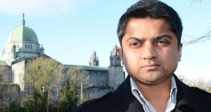 Praveen Halappanavar. husband of Savita Halappanavar, who is suing the HSE over her death. Photograph: Brenda Fitzsimons/The Irish Times