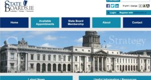 Stateboards.ie facilitates people in registering their interest in hearing about State board vacancies