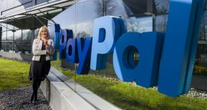 PayPal vice-president of global operations Louise Phelan.