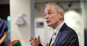 Minister for Jobs, Enterprise and Innovation Richard Bruton will launch a job strategy for the north east and north west region today. (Photograph: Eric Luke / The Irish Times)