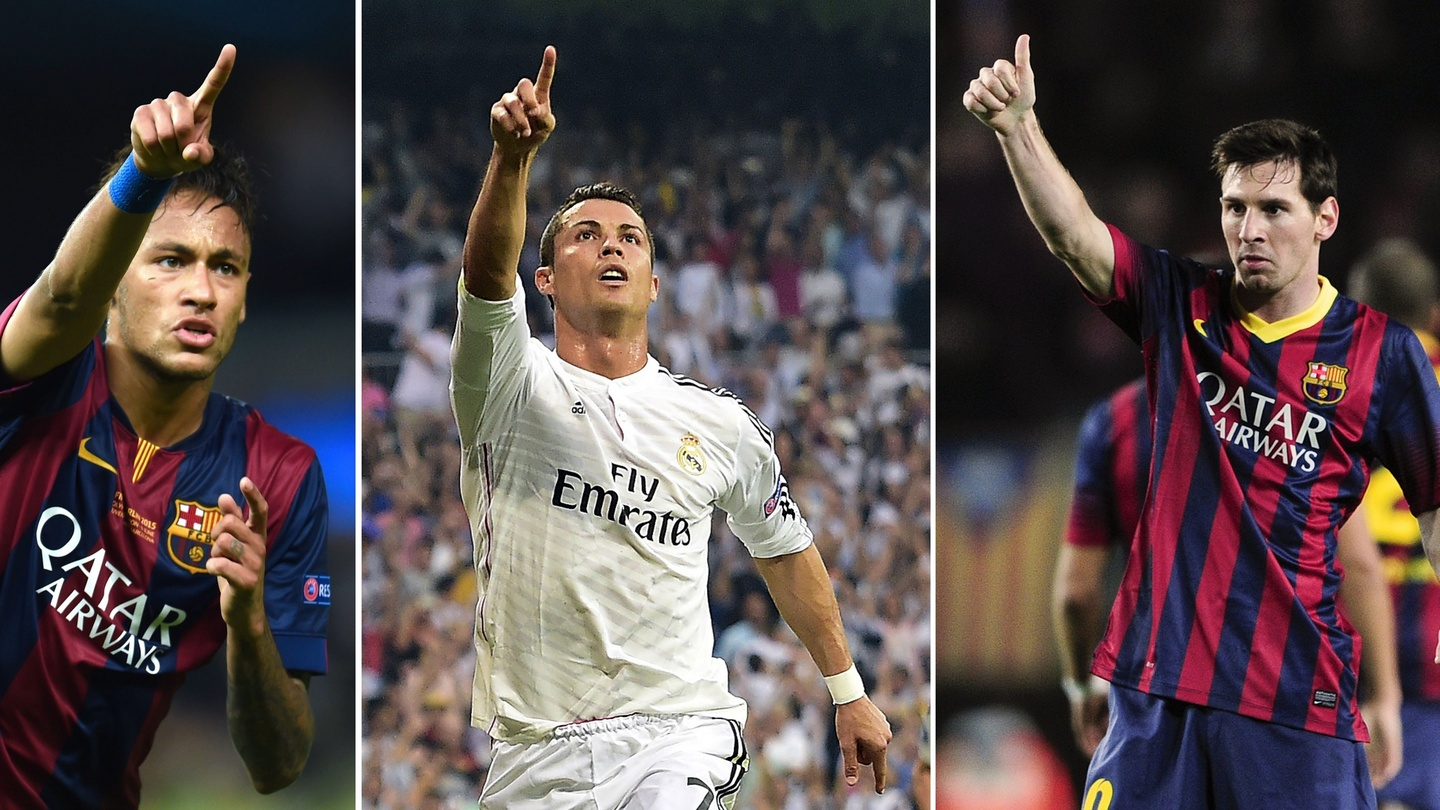 Neymar joins Lionel Messi and Cristiano Ronaldo in Ballon d'Or shortlist