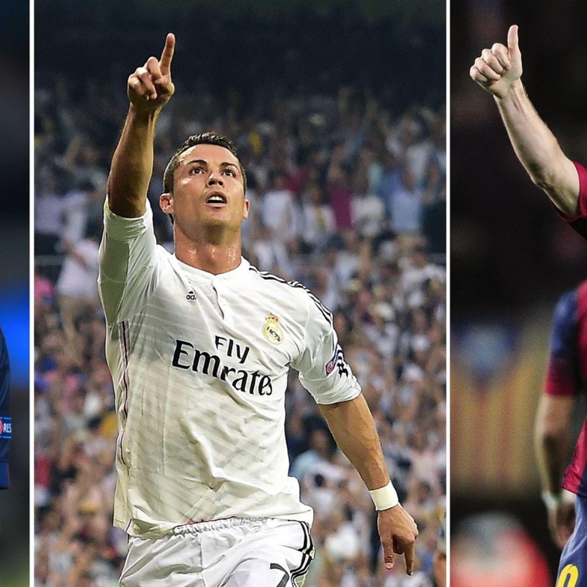 Neymar joins Lionel Messi and Cristiano Ronaldo in Ballon d