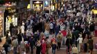 A website promising to take some of the stress out of Christmas shopping in Dublin by offering real-time information on car and human traffic, parking, likely journey times on the M50 and more besides has gone live. Photograph: Eric Luke/The Irish Times.