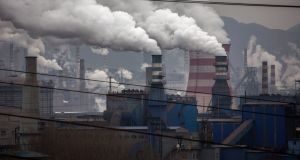 Coal-fired generators in Hebei, China. The successful development of clean energy is likely to rely heavily on investment by the private sector. Photograph: Kevin Frayer/Getty Images