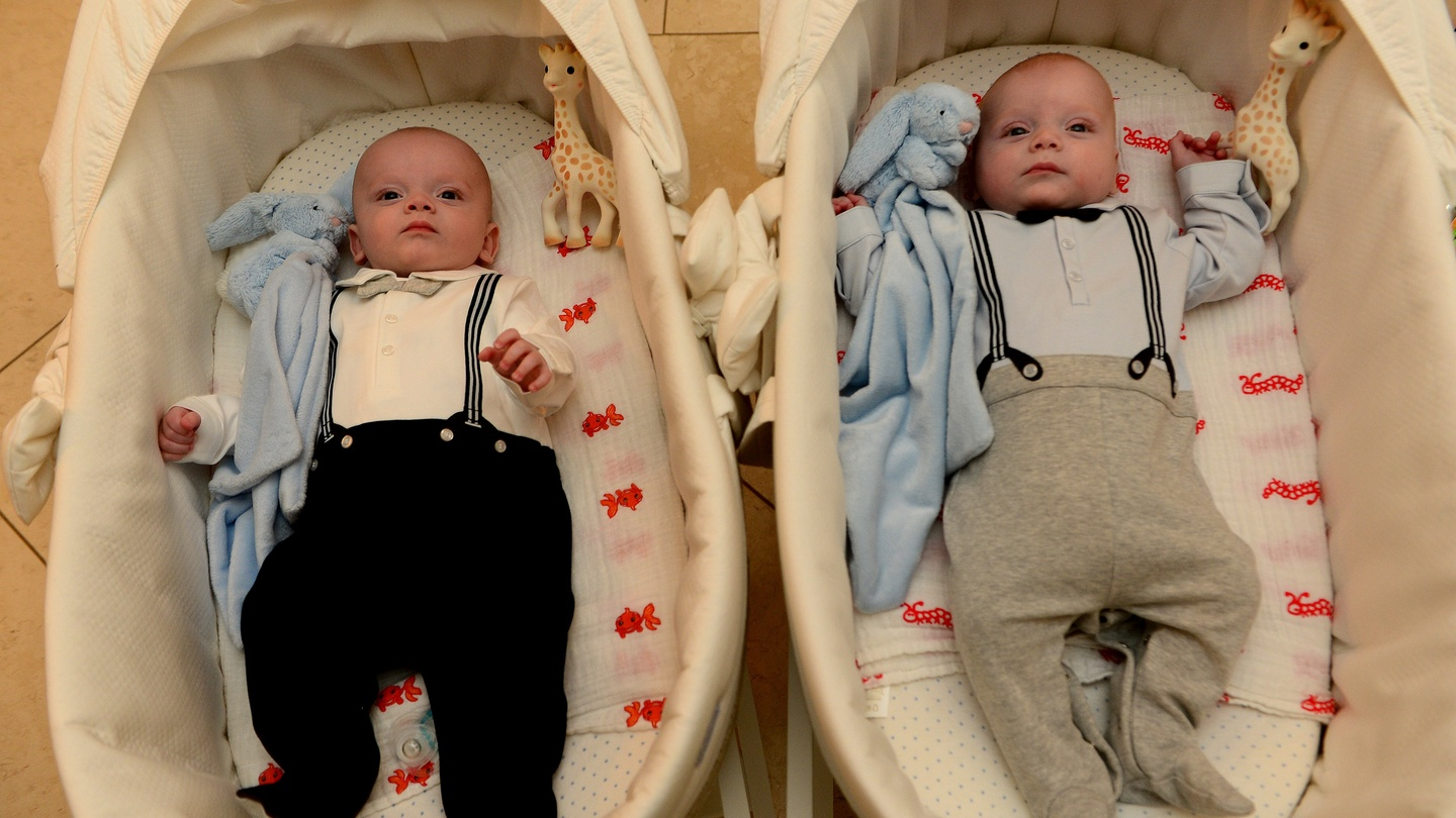 Twin delights after seven years and six rounds of IVF