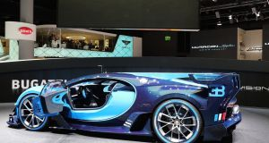 The Bugatti Vision GT: a concept with heavy hints at the future design of the upcoming Chiron