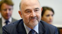 European Commissioner for Economic and Financial Affairs, Taxation and Customs Pierre Moscovici: vote could have implications for Ireland if the European Commission rules against Apple in its ongoing investigation into its tax relationship with the State. Photograph: Eric Piermont/AFP/Getty Images