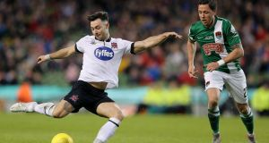 "Richie Towell: ""First and foremost I need to break into the Brighton squad . . . it's every boy's dream to play for their national senior team."" Photograph: Ryan Byrne/Inpho"