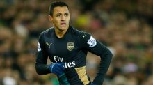 Alexis Sánchez pulled up with hamstring trouble at Norwich. Photograph: Andrew Boyers/Reuters