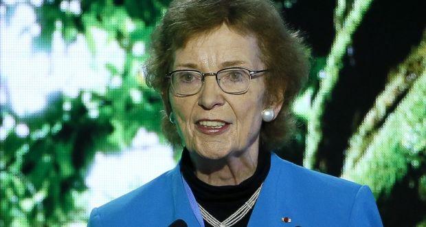Mary Robinson irish politician