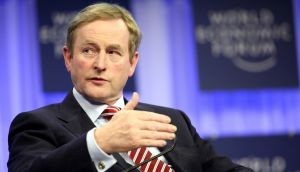 "Taoiseach Enda Kenny: Said Ireland was ""determined to play its part"" in reaching an historic agreement. Photograph: Bloomberg"