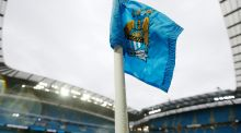 Manchester City's parent company City Football Group have announced a €377m investment from a Chinese consortium. Photograph: Reuters