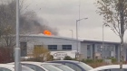 Eyewitness footage of large Kilkenny fire