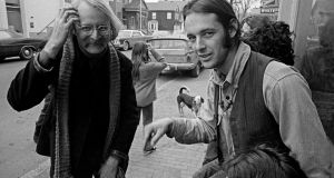 Cambridge, Massachusetts 1970, with Peter Miller, at the Trout Fishing in America School. Photograph: Erik Weber