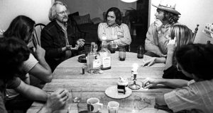 Montana 1972, with Jim Harrison, Tom McGuane, Becky Fonda, among others. Photograph: Erik Weber
