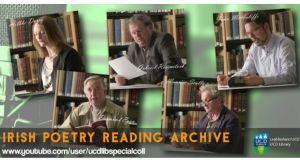 In the recordings captured by the Irish Poetry Reading Archive, the poets read a selection of their poems, offer a brief overview of the context and circumstances that influenced the writing of the poem, and also provide manuscripts of the poems chosen