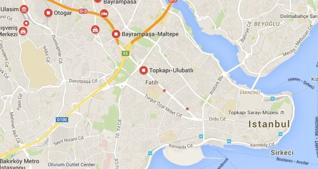 Five injured in pipe bomb explosion near Istanbul metro