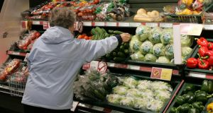 Switching to plant based diets could be key to reducing Ireland's carbon emissions. Photograph: Frank Miller /	THE IRISH TIMES