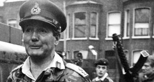 Gen Sir Robert Ford: Commander of Land Forces in Northern Ireland on January 30th, 1972, when soldiers of the Parachute Regiment shot dead 13 civilians in  Derry. Photograph: PA Photo