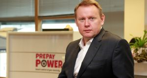 PrePay Power CEO Andrew Collins. Photograph:  Nick Bradshaw