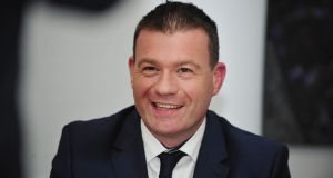 Alan Kelly, strongly and emotionally denied that he or any of his staff were responsible for the leak of Labour constituency polls.  Photograph: Aidan Crawley