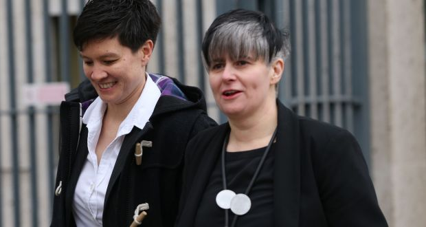 A lesbian couple barred from